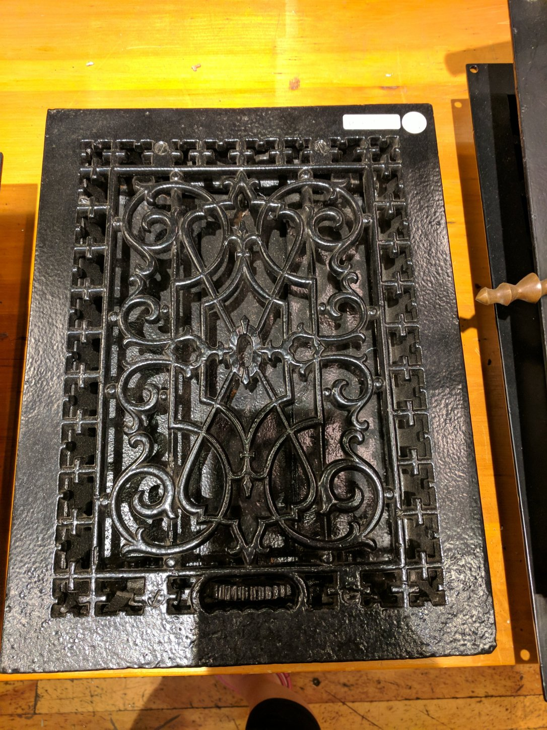 Cast iron register
